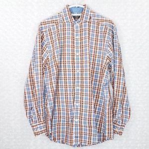 Johnston & Murphy Long Sleeve Button Down Shirt